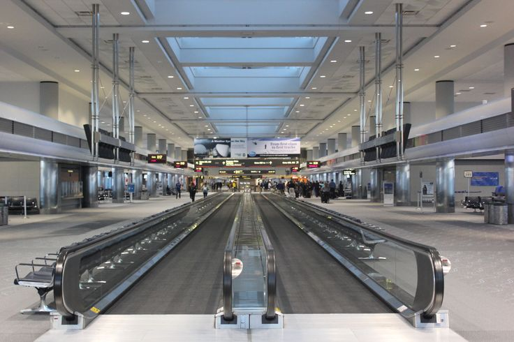 Denver International Airport is a modern and sleek facility with great amenities and loads of room for expansion