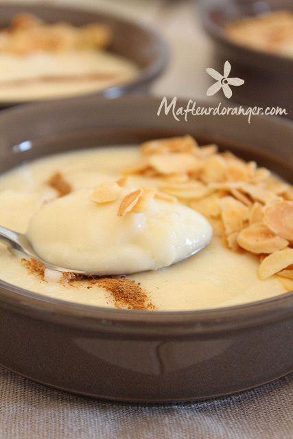 Fereni : Crème au lait à l'iranienne - Ma fleur d'oranger http://www.mafleurdoranger.com/2014/07/fereni-creme-au-lait-a-l-iranienne.html