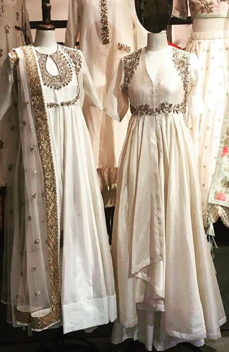 Jayanti reddy # white love # hand crafted # Indian fashion # fusion wear