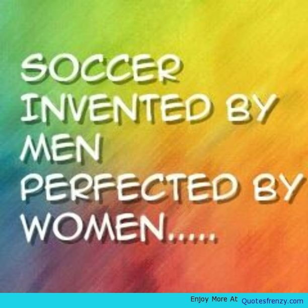 Sports Soccer Quote -
