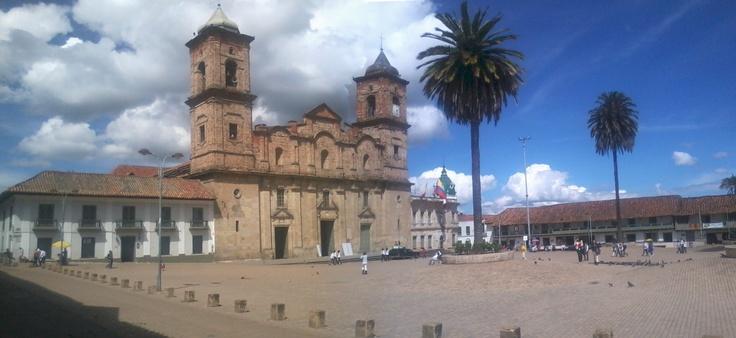 plaza central zipaquira