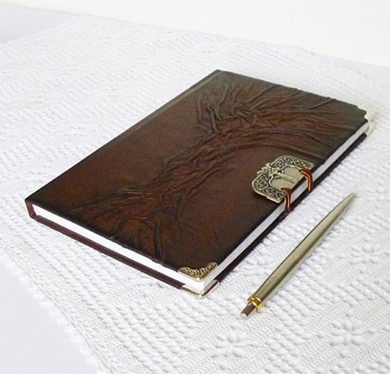 Leather Journal A5 Diary Writing Journal Leather Gift for