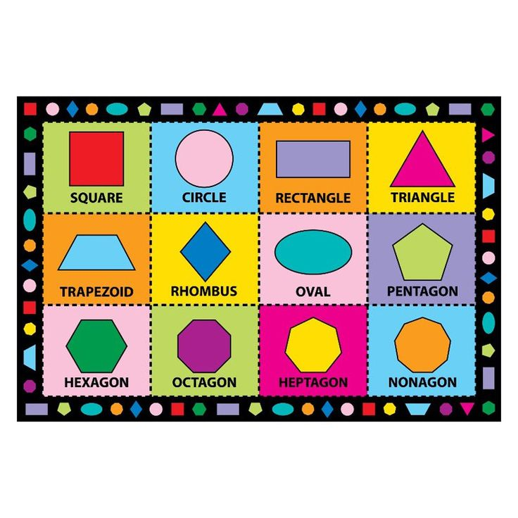 Fun Time Shapes Rug - FT-123