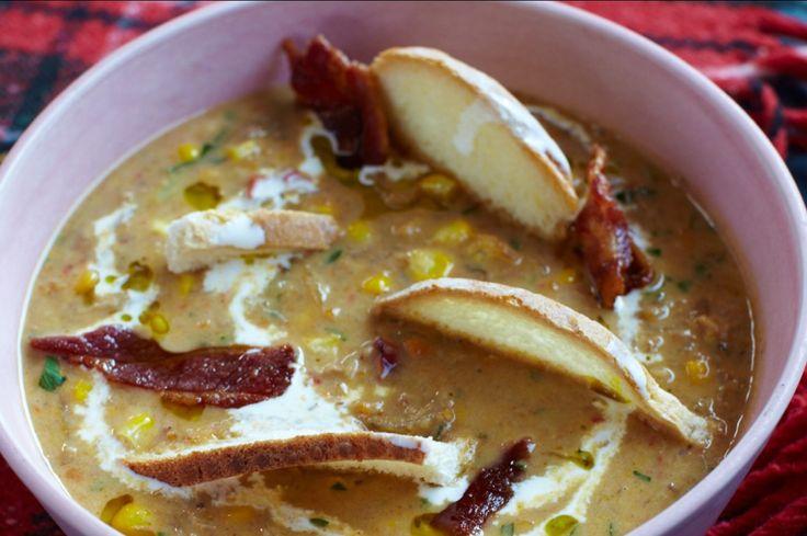 Чаудер из индейки с запеченными овощами рецепт – супы. «Афиша-Еда»