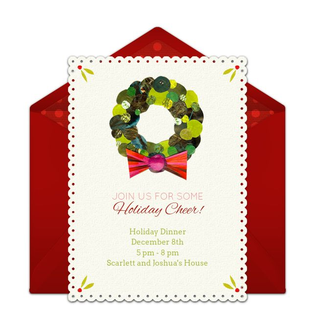 522 best Christmas Party Ideas images – Online Holiday Party Invitations