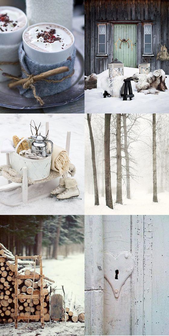 Moodboard -winter.. voor meer inspiratie www.stylingentrends.nl of www.facebook.com/stylingentrends