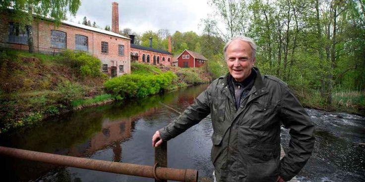 Anders Randver äger Ebbamåla Bruk och kraftstationen som i vår ska vara värd för en kurs i elkraftsproduktion. Företaget grundades år 1885.