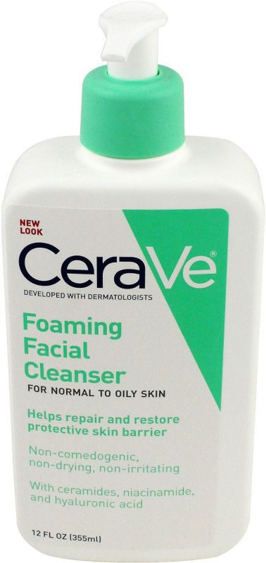 CeraVe Foaming Facial Cleanser | Ulta Beauty... If you have oily skin, this guy is the bomb diggity! Be sure to still use a moisturizer after cleansing!