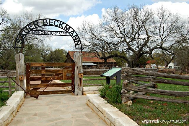 Sauer-Beckmann Living History Farm ~ Stonewall, Texas - R We There Yet Mom? | Family Travel for Texas and beyond...