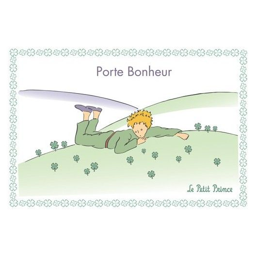 Carte postale Le Petit Prince - Porte Bonheur