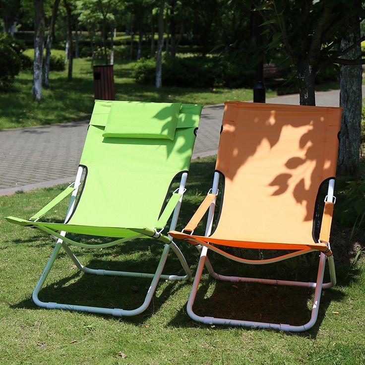 Складной стул кресло офис обед сон пляж портативный открытый отдых складной