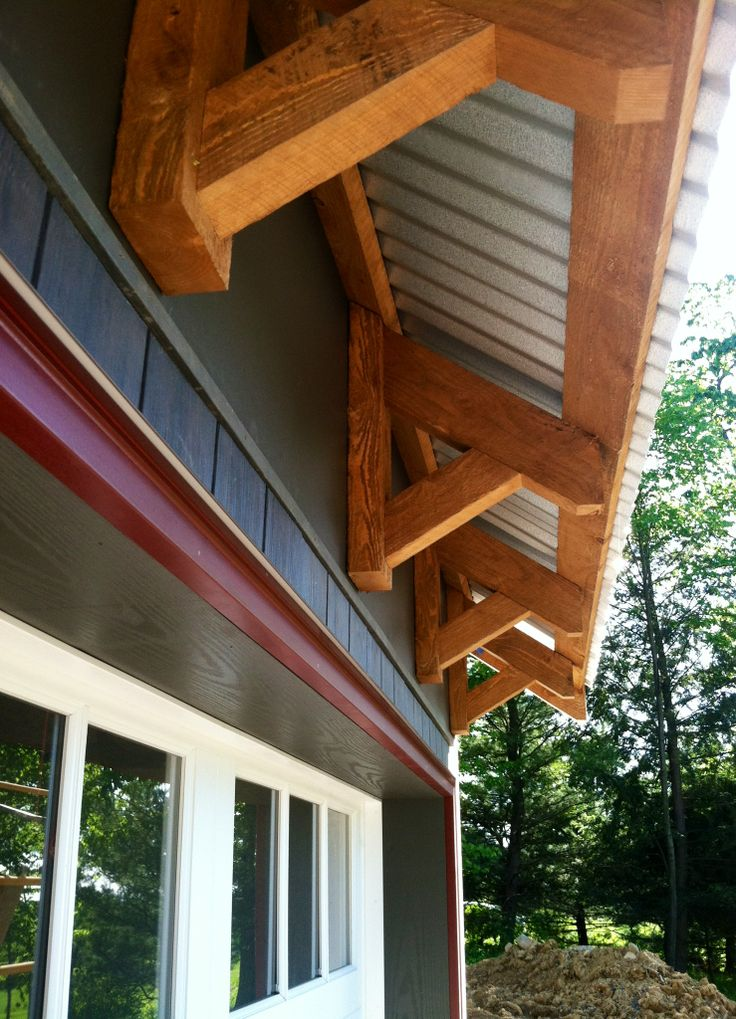 Timber Framed Eave Detail New Homes Construction Photos