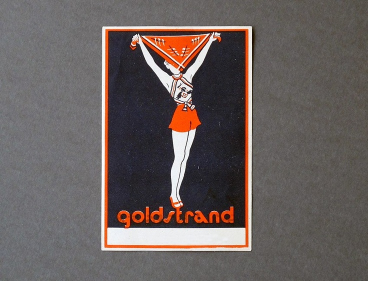 Goldberger ad by Anna F. Györffy