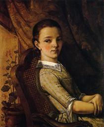 Juliette Courbet - Gustave Courbet