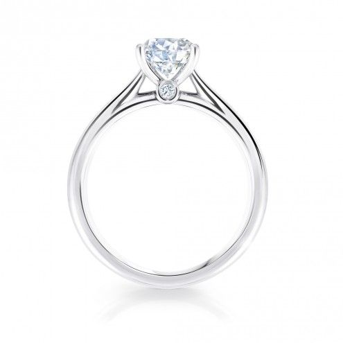 Birks 1879 Solitaire Canadian diamond engagement ring | Maison Birks