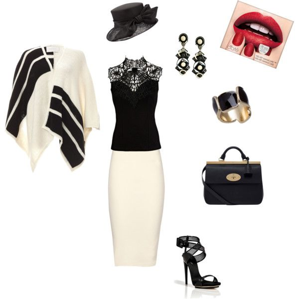 """""""Chic Fatale"""" by line-leduc on Polyvore"""