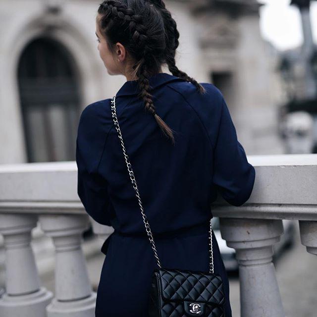 Paris Fashion Week & Braids  Happy friyay ✌ S