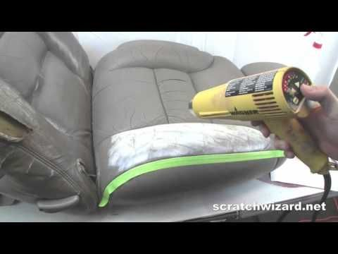 how to fix leather couch cracks