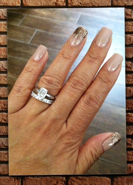 CND Shellac layered from bottom to top: Satin Pajamas (2