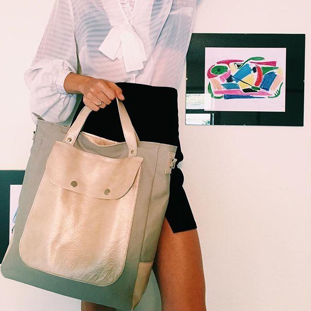 #Bag #shopperbag #pattern #fabric #leather