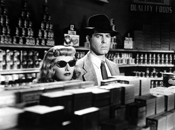 "Phyllis (Barbara Stanwyck): ""There's a speed limit in this state, Mr. Neff. Forty-five miles an hour."" // Walter (Fred MacMurray): ""How fast was I going, Officer?"" // Phyllis: ""I'd say around ninety."" -- from Double Indemnity (1944) directed by Billy Wilder"