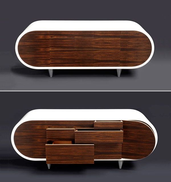 Retro Modern TV Stand Design Ideas