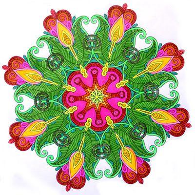 HANDMADE by Ki: (4) kolorowanki dla dorosłych