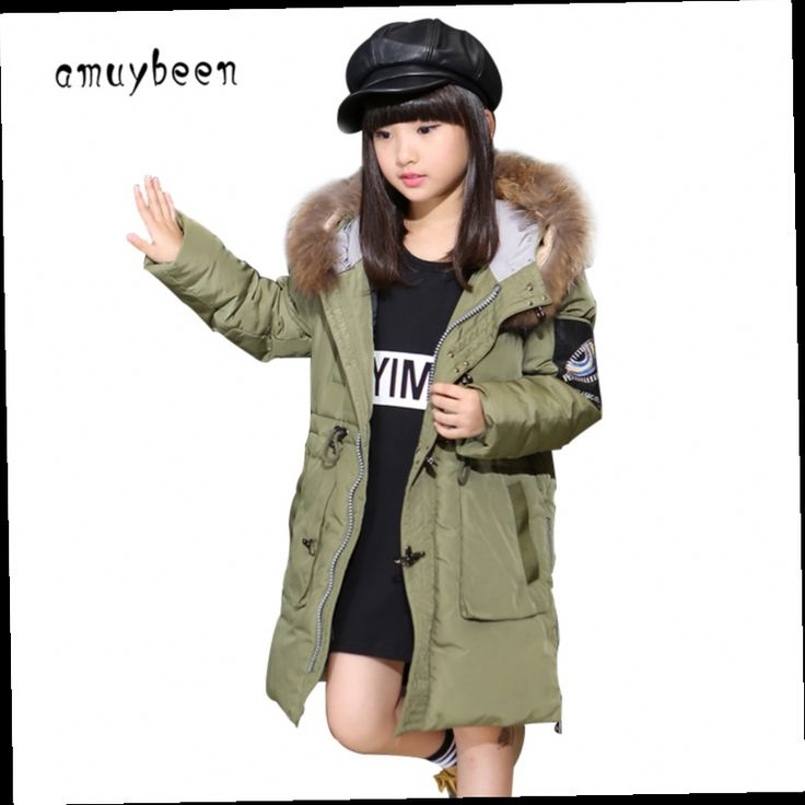 51.60$  Buy here - http://aliip4.worldwells.pw/go.php?t=32745811950 - Girls Winter Coat 2016 Kids Reima Down Jacket For Teenage Girls Clothes Children's Winter Jackets Baby Manteau Fille Hiver Parka 51.60$