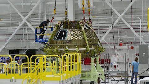 CST-100 ist eine von Boeing konzipierte Raumfähre für den Transport von…