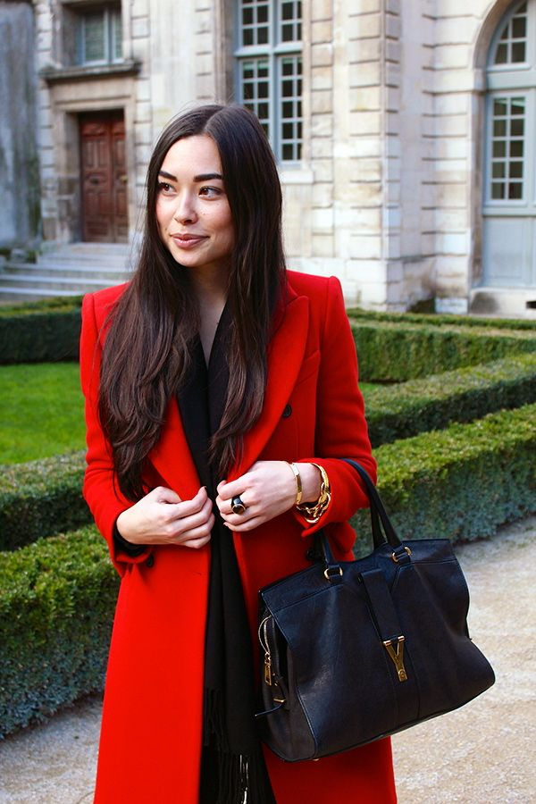 Black YSL Cabas Chyc Handbag, YSL Handbags, Saint Laurent purses ...