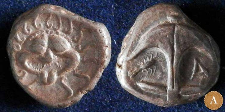 Фракия, Аполлония Понтийская, 450-400 годы до Р.Х., драхма. | ANDREY PYATYGIN ANCIENT COINS | Магазины | Антикварус