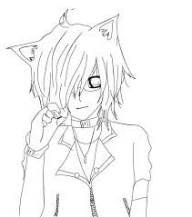 Anime Para Colorear Chibi Neko Resultado De Imagen Para Chicas