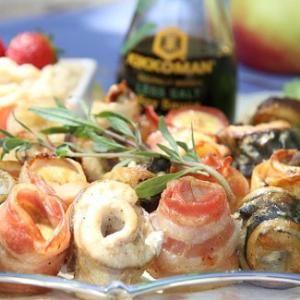 Шашлык из рыбы с яблочным соусом