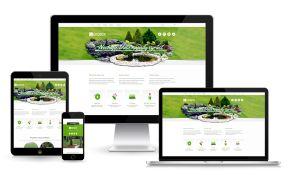 Realizácia záhrad - www.ekobox.sk  #webdesign #zahrady