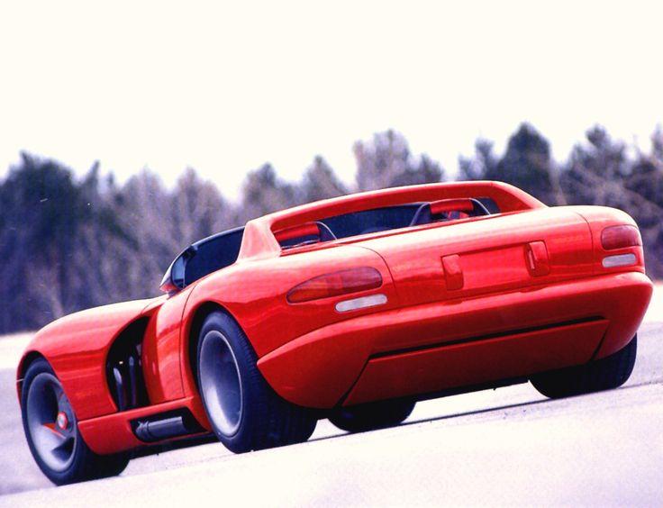 1989 viper future | 1989 Dodge Viper RT 10 Concept Car Red rvl