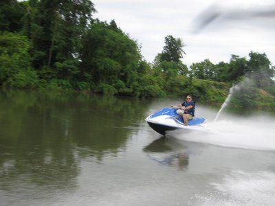 jet ski tour on the River Kwai