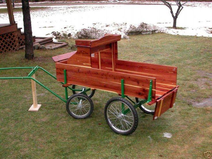 Cedar Mini / Goat / Dog / Horse drawn, goat drawn, dog cart