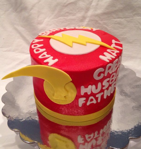 1000 Images About The Flash Cake On Pinterest Birthday