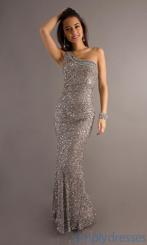 Long Purple One Shoulder Prom Dress,Purple Dress With