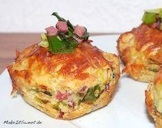 Muffins schmecken nicht nur süß sondern auch in der herzhaften Variante. Dieses Rezept ist einfach und die Muffins können auch als Hauptspeise verwendet werden. Durch den angebratenen Speck und ... Mehr lesen