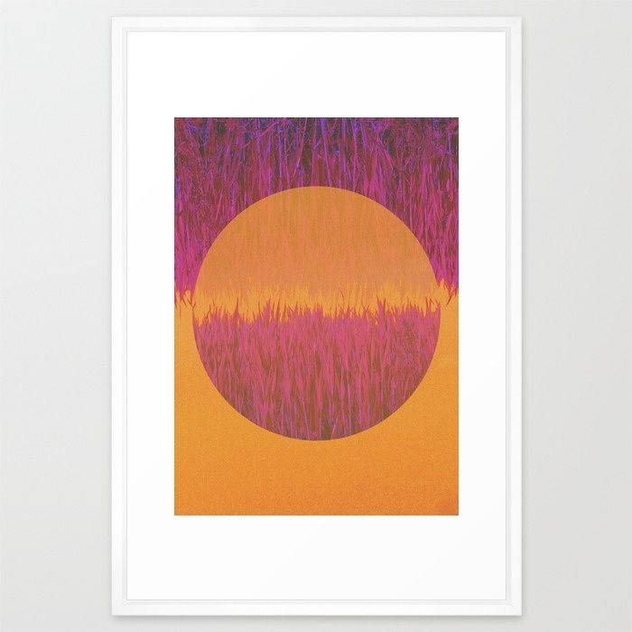 Hot Summer Day Framed Art Print by Mirimo | Society6