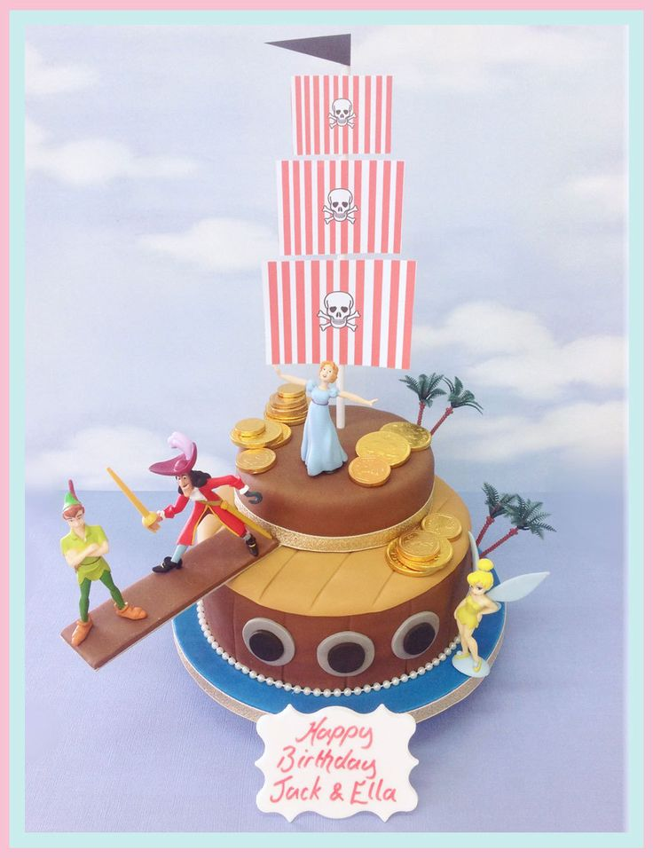 The Brilliant Bakers - Peter Pan Cake, £85.00 (http://www.thebrilliantbakers.co.uk/peter-pan-cake/)