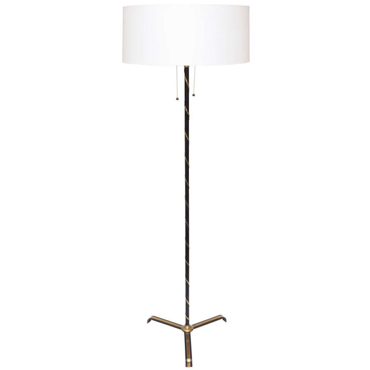 1940s French Art Moderne Floor Lamp | From a unique collection of antique and modern floor lamps at https://www.1stdibs.com/furniture/lighting/floor-lamps/