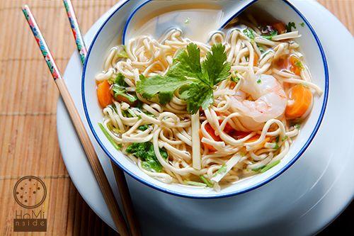 Soupe parfumée aux crevettes (Vietnamien) by HoMi\nside