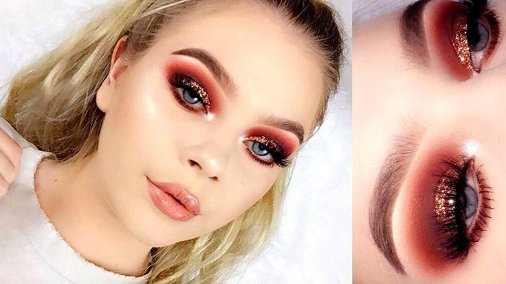 Bronze Glitter Makeup Tutorial | Tina Halada – Makeup Project