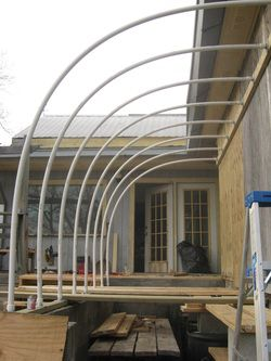 Attached Hoop House At Babe And Sage Farm Could I Do This