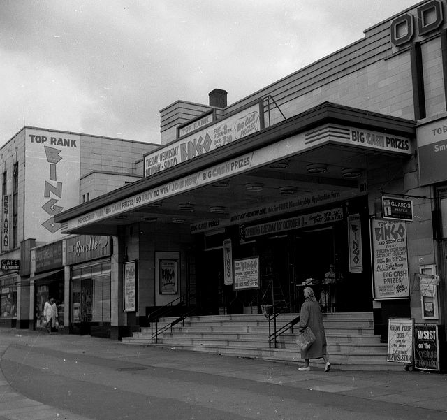 Old Odeon Cinema at Colindale on the Edgware Road, in this photo has become a Bingo Hall