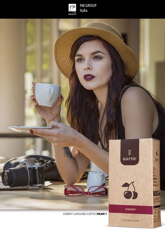 Aurile - Cherry flavoured coffee AR11 - Federico Mahora FM GROUP Italia #FMGROUP #fmgroupitalia #coffe #caffè #coffeelovers #cherry #marsala #cafè