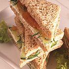 Zalm- en komkommer sandwiches - recept - okoko recepten