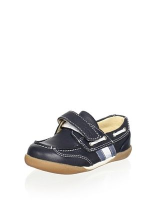 70% OFF Billowy Kid's Loafer (Navy)
